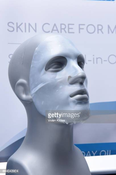Dekke Hud skin care for men on display at the 1027 KIIS FM Artist Gift Lounge at 1027 KIIS FM's Jingle Ball 2017 presented by Capital One at The...
