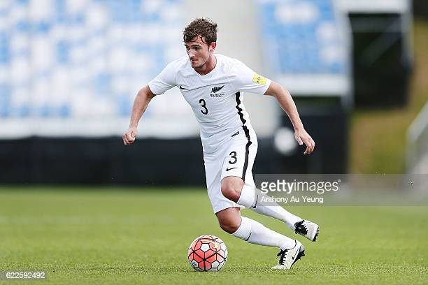 Deklan Wynne of New Zealand in action during the 2018 FIFA World Cup Qualifier match between the New Zealand All Whites and New Caledonia at QBE...