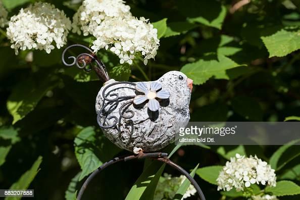 Dekovogel Aus Stein Gartendekoration Pictures | Getty Images