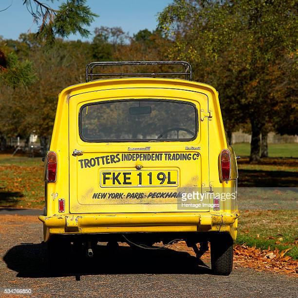 Del Boy's Reliant Supervan III as used in TV comedy show 'Only Fools and Horses', 2000.