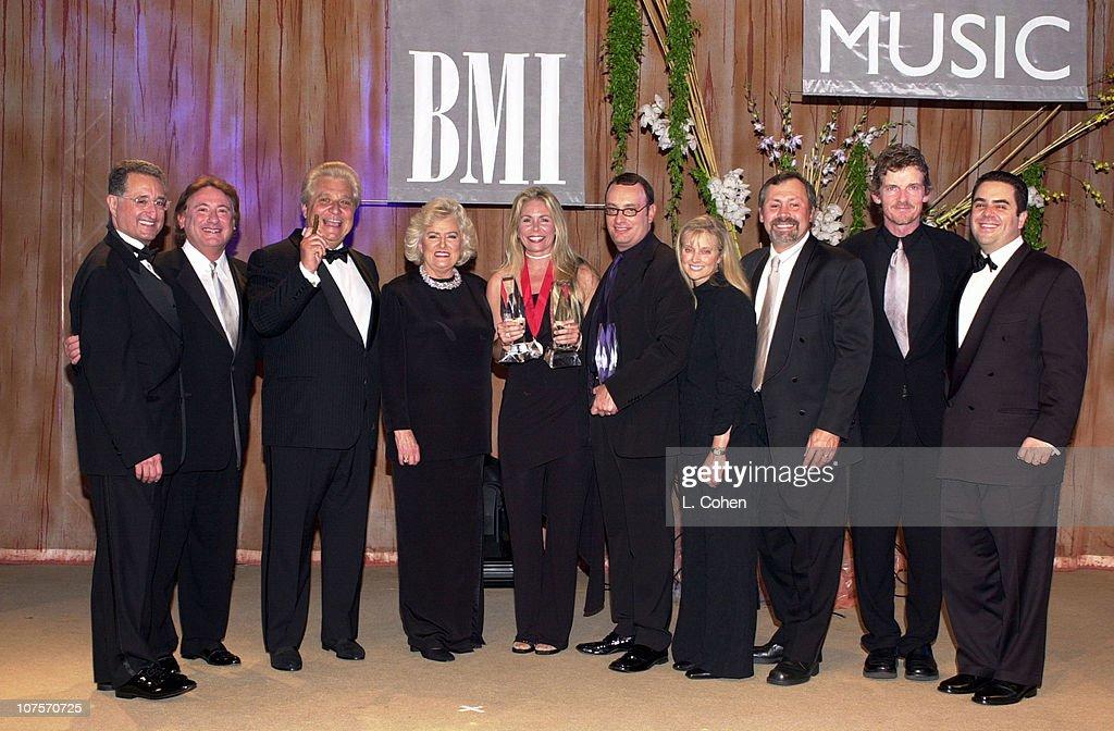 Del Bryant, Bob Flax (EMI), Martin Bandier (EMI), Frances W. Preston, Stephanie Bentley, David Renzer (Universal Music Publishing), Barbara Cane, Pat Higdon (Universal Music Publishing), Tom Sturges (Universal Music Publishing), Evan Lamberg