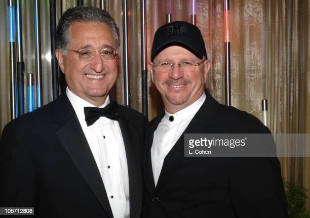 Del Bryant, president/CEO of BMI and Mike Post during 2005 BMI Film & Television Awards at Regent Beverly Wilshire in Beverly Hills, California,...