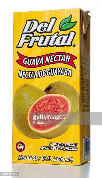 Del Frutal Guava Nectar Juice carton