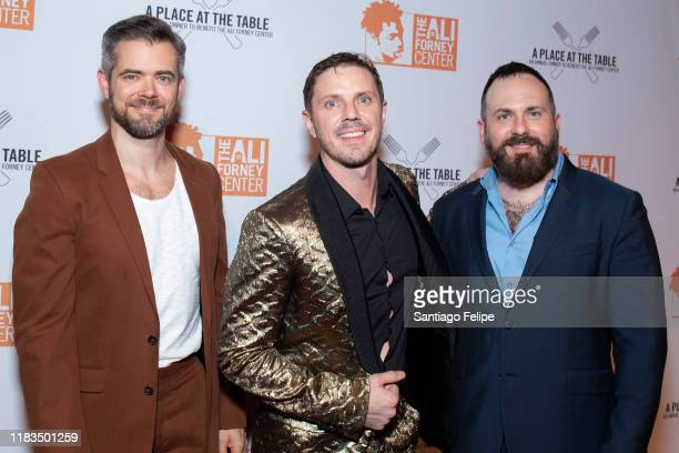 Del Marquis Jake Shears and Baby Daddy attend the 2019 Ali Forney Center Gala at Cipriani Wall Street on October 25 2019 in New York City
