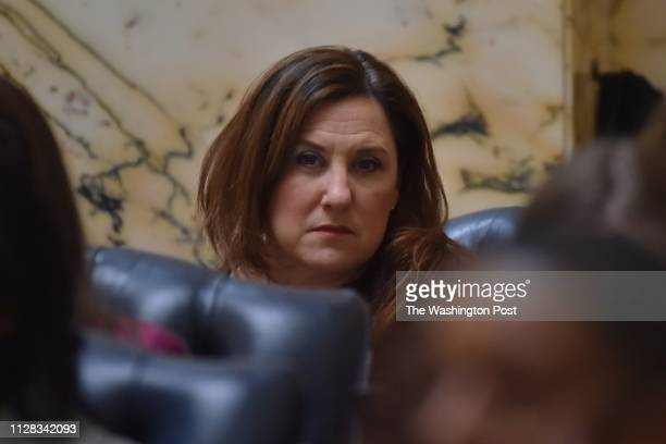 Del Mary Ann Lisanti the Maryland general assembly at the Maryland Statehouse on Wednesday February 27 in Annapolis MD The Maryland lawmaker has been...