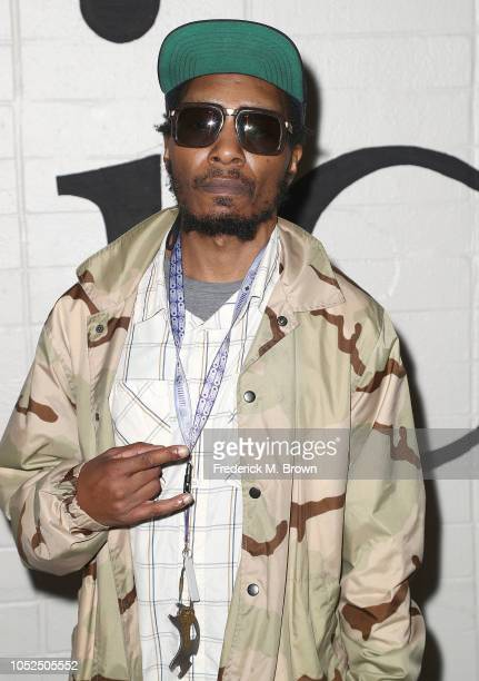 Del the Funky Homosapien attends the Premiere of A24's Mid90's at the West Los Angeles Courthouse on October 18 2018 in Los Angeles California