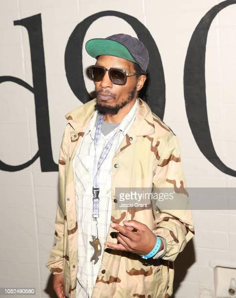 Del the Funky Homosapien attends the premiere of A24's Mid90s at West LA Courthouse on October 18 2018 in Los Angeles California