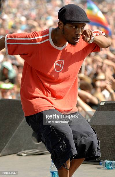 Del the Funky Homosapien performs as part of the Austin City Limits Music Festival at Zilker Park on September 26 2008 in Austin Texas