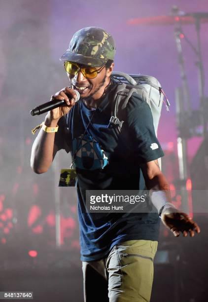Del the Funky Homosapien performs onstage during the Meadows Music and Arts Festival Day 2 at Citi Field on September 16 2017 in New York City