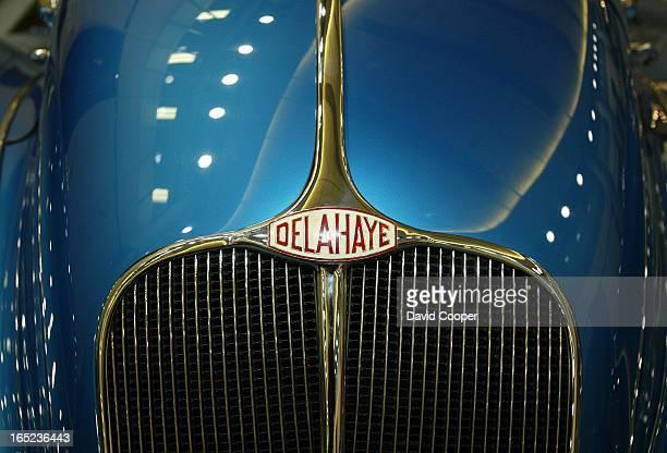 Delahaye classic car at the CIAS Canadian International Auto Show in Toronto Feb 1423 2003 Feb 10 2003