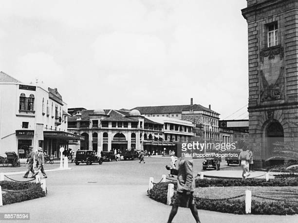 Delamere Avenue in Nairobi Kenya circa 1935 Commemorating Hugh Cholmondeley 3rd Baron Delamere it was later renamed Kenyatta Avenue after President...