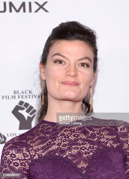 Delaney Milbourn attends the Kash Hovey and Friends Film Block at Film Fest LA at Regal Cinemas LA LIVE Stadium 14 on November 09 2019 in Los Angeles...