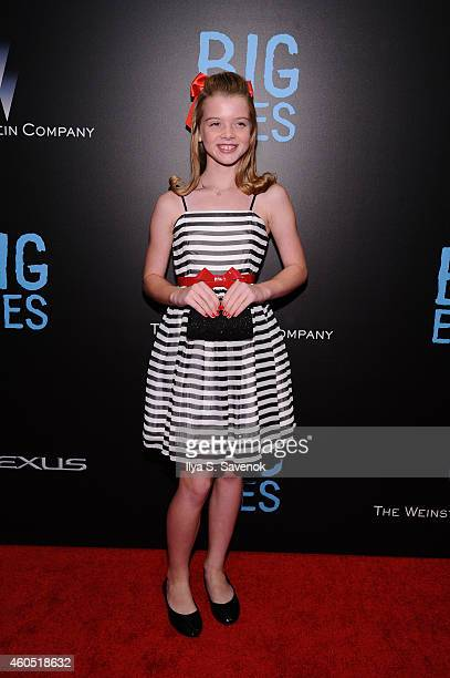 Delaney Raye attends The New York Premiere Of BIG EYES at Museum of Modern Art on December 15, 2014 in New York City.