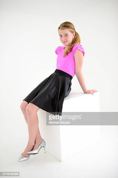 Delaney Raye poses for portrait at The SAP The Starving Artists Project on May 23, 2015 in Los Angeles, California.