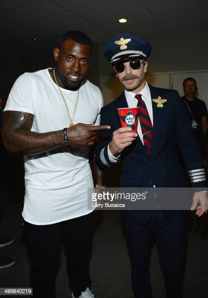 Delanie Walker and Dierks Bentley attend the 2014 CMT Music awards at the Bridgestone Arena on June 4 2014 in Nashville Tennessee