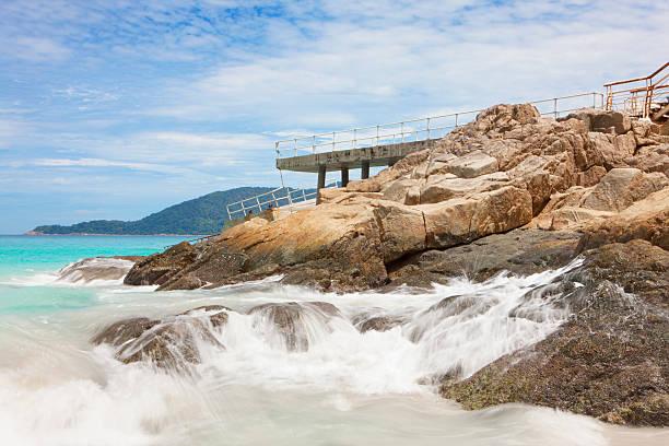 Delapidated Pier, Perhentian Islands Wall Art