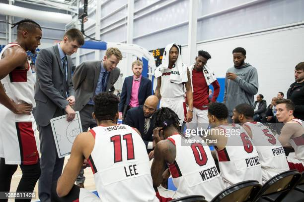 Delaware Blue Coats v the Sioux Falls Skyforce during an NBA GLeague game on January 25 2019 at 76ers Fieldhouse in Wilmington Delaware NOTE TO USER...