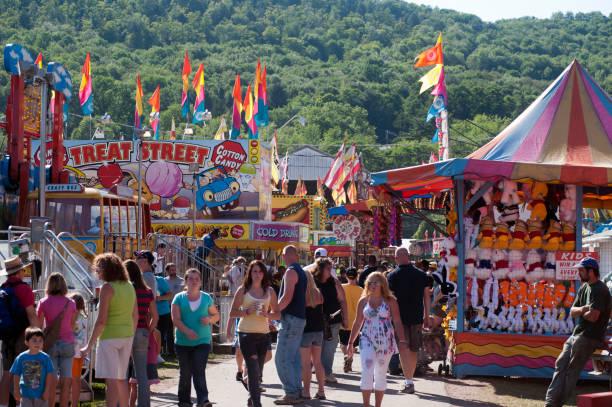 Delaware County Fair in Walton, NY.