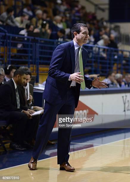 Delaware Fightin Blue Hens Head Coach Martin Ingelsby during the game as the Delaware Fightin Blue Hens take on the Yale Bulldogs on December 11 2016...