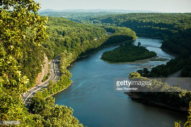 delaware water gap - pocono mountains stock pictures, royalty-free photos & images