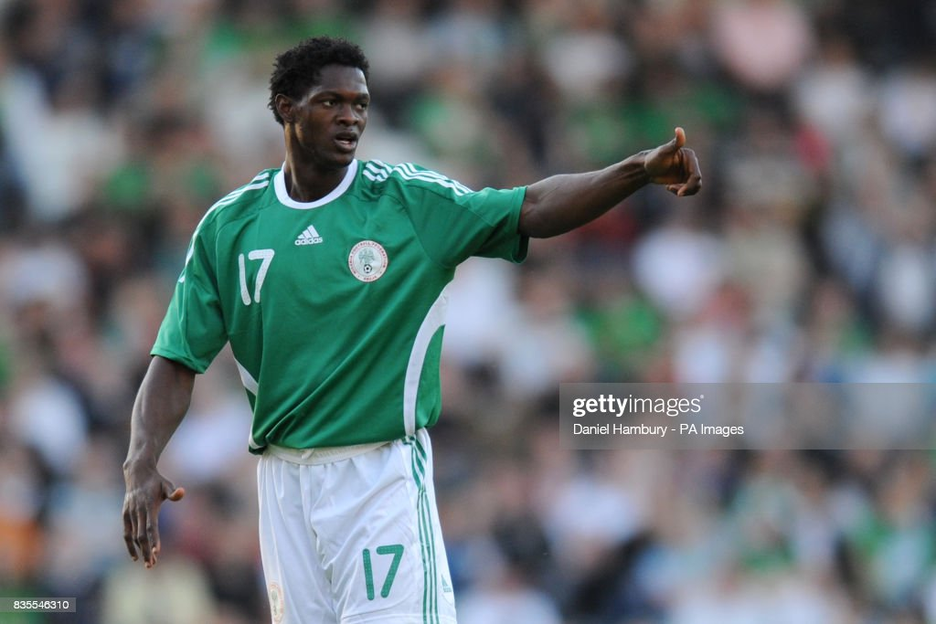 Soccer - Friendly - Nigeria v Republic of Ireland - Craven Cottage : Foto jornalística