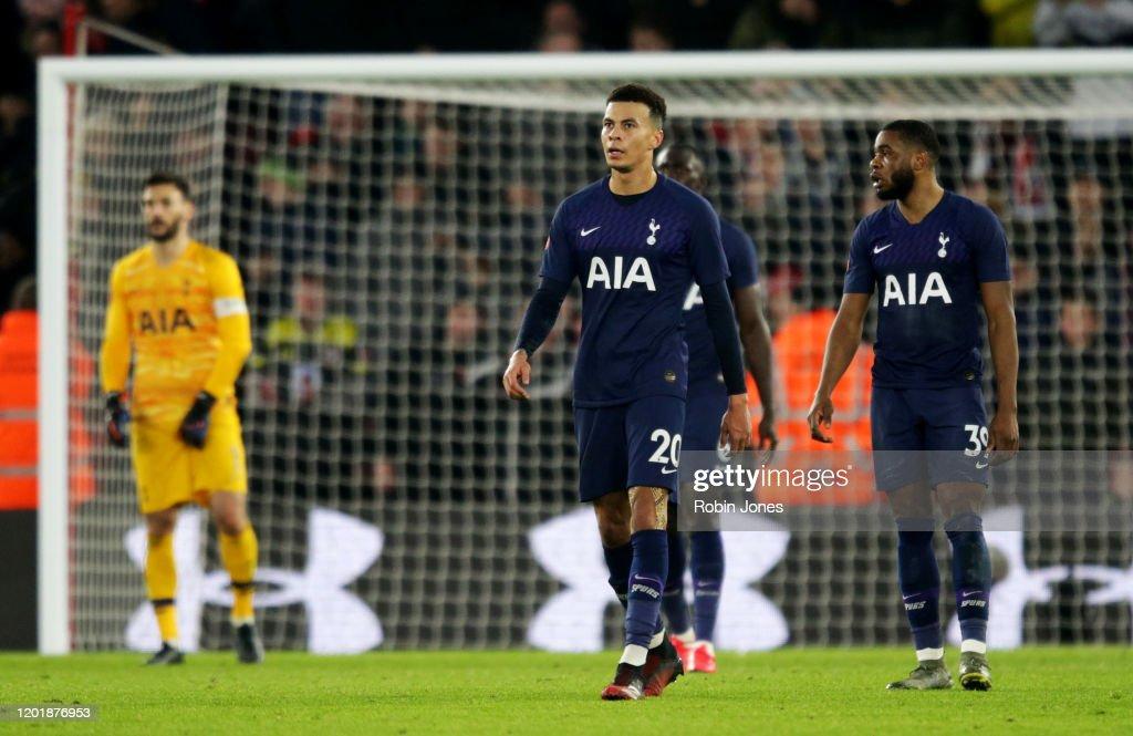 Southampton v Tottenham Hotspur - FA Cup Fourth Round : News Photo