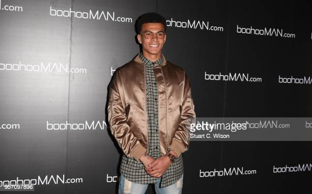 Dele Alli attends the boohooMAN by Dele Alli VIP launch at ME London on May 10 2018 in London England