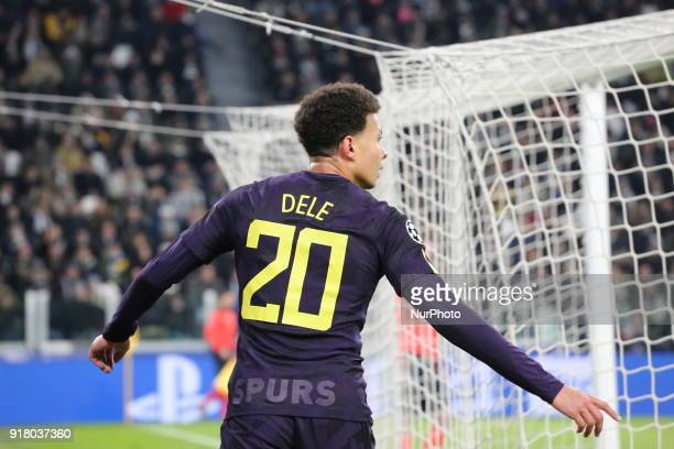 Dele Alli during the UEFA Champions League 2017/18 football match between Juventus FC and Tottenham Hotspur FC at Allianz Stadium on 13 February 2018...