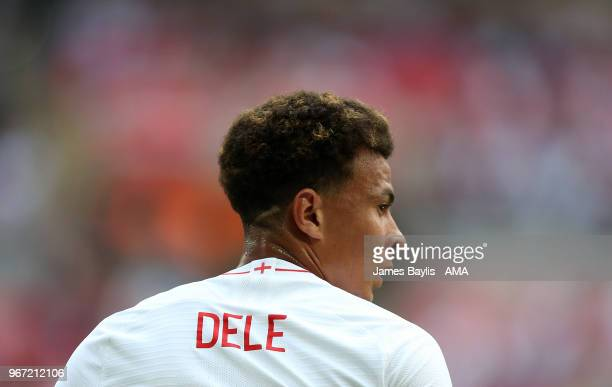 Dele Alli of England during the International Friendly between England and Nigeria at Wembley Stadium on June 2 2018 in London England