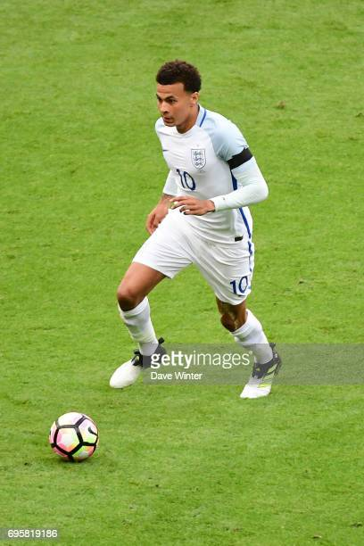 Dele Alli of England during the International friendly match between France and England at Stade de France on June 13 2017 in Paris France