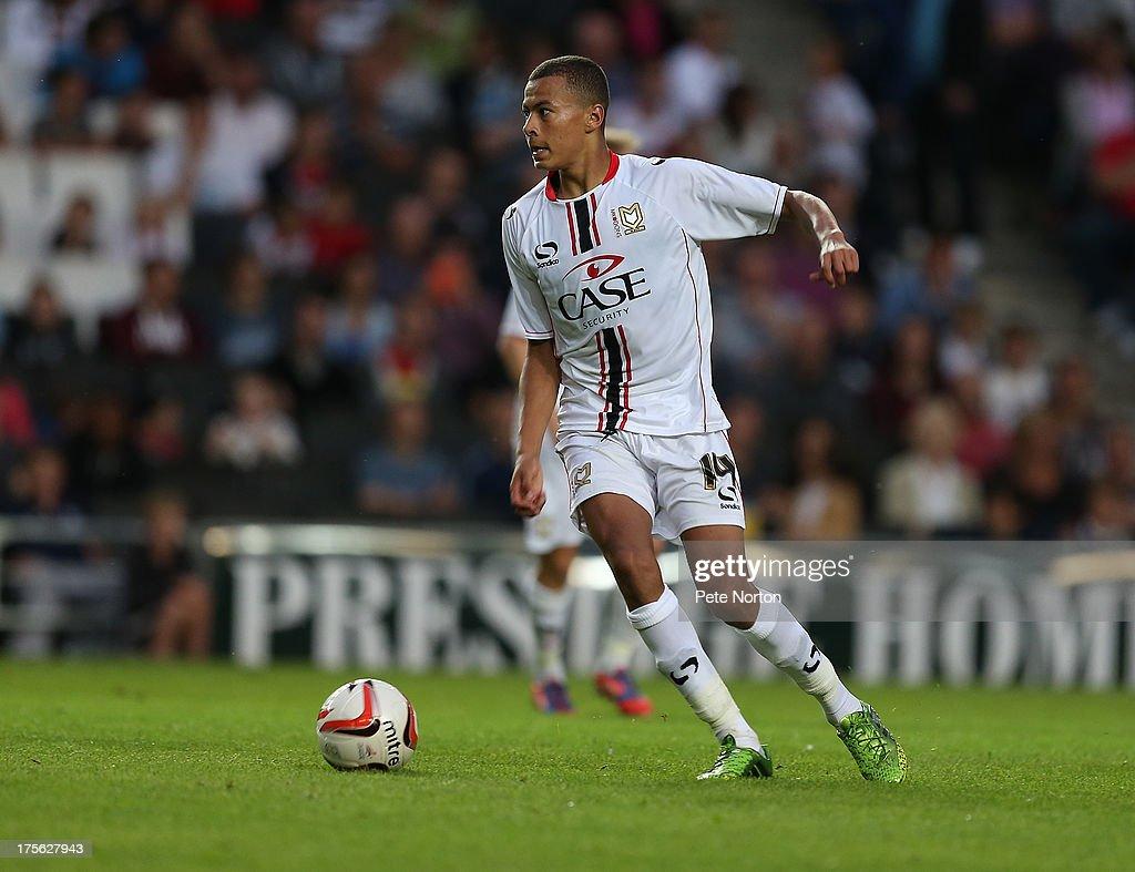 MK Dons v Tottenham Hotspur XI - Pre-Season Friendly : News Photo
