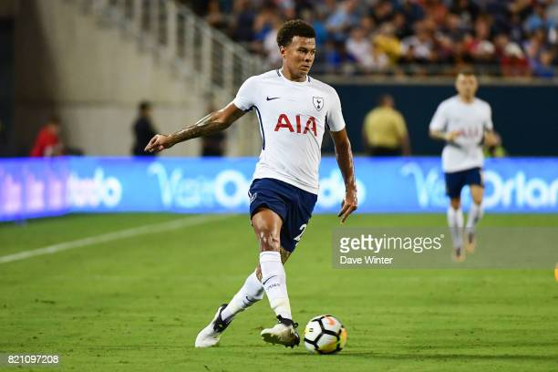 Dele Alli of Spurs during the International Champions Cup match between Paris Saint Germain and Tottenham Hotspur on July 22 2017 in Orlando United...
