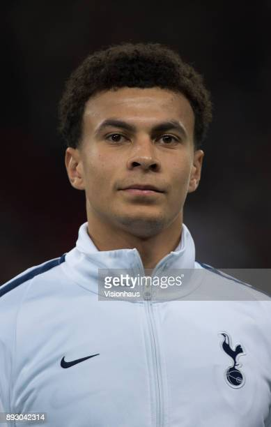 Dele Alli of Tottenham Hotspur before the UEFA Champions League group H match between Tottenham Hotspur and APOEL Nikosia at Wembley Stadium on...