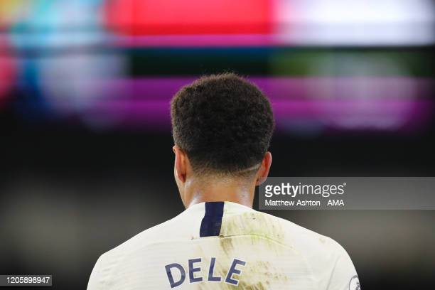 Dele Alli of Tottenham Hotspur during the Premier League match between Burnley FC and Tottenham Hotspur at Turf Moor on March 7, 2020 in Burnley,...