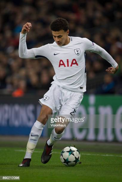 Dele Alli of Tottenham Hotspur in action during the UEFA Champions League group H match between Tottenham Hotspur and APOEL Nikosia at Wembley...
