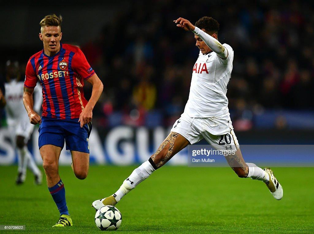 PFC CSKA Moskva v Tottenham Hotspur FC - UEFA Champions League