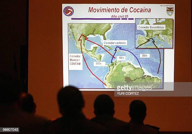 Delegados policiales tecnicos de organos judiciales y miembros de fuerzas armadas de Estados Unidos Mexico Centroamerica Sudamerica y el Caribe...