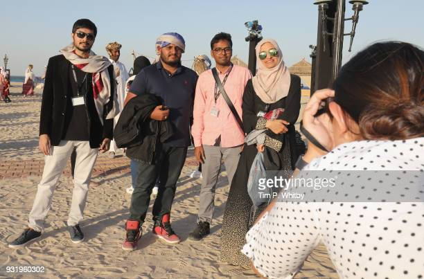 Delegates and filmmakers at the Closing Night event on day six of Qumra the fourth edition of the industry event by the Doha Film Institute dedicated...