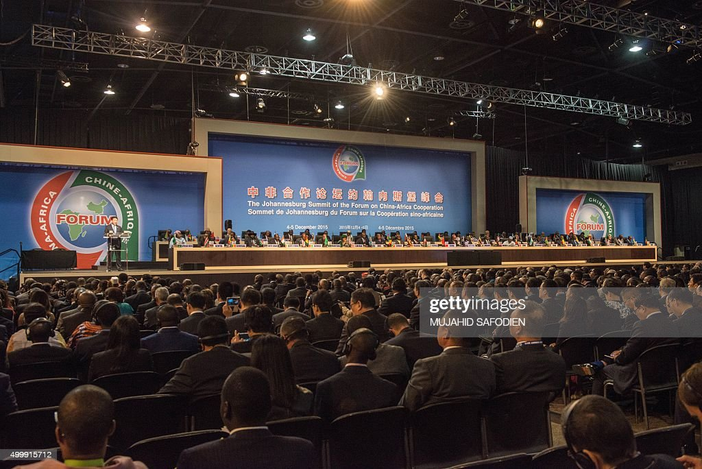 SAFRICA-AFRICA-CHINA-FORUM-ECONOMY-FINANCE : News Photo