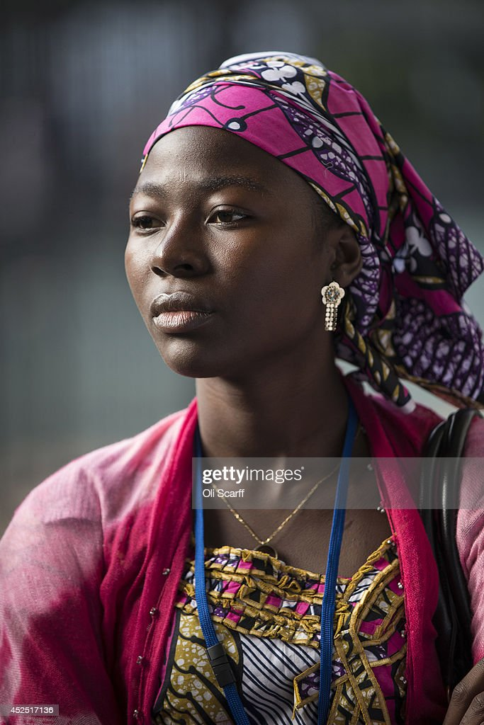 Delegates arrive to attend the 'Girl Summit 2014' in Walworth Academy on July 22, 2014 in London, England. At the one-day summit the government has announced that parents will face prosecution if they fail to prevent their daughters suffering female genital mutilation (FGM).