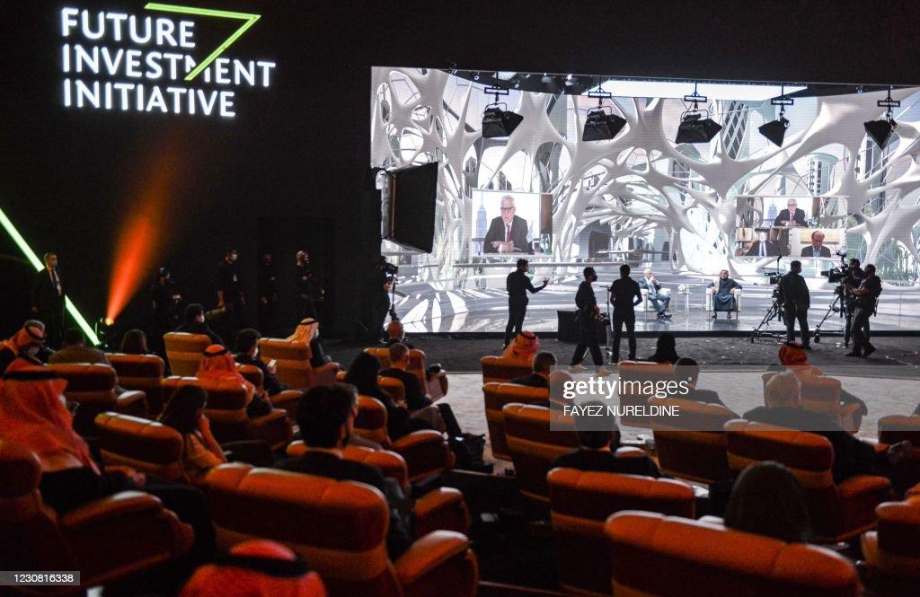 SAUDI-ECONOMY-INVESTMENT-SUMMIT : Nieuwsfoto's