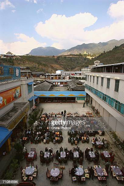 Delegates attend the Kachin State Special Region 1 People's Conference on March 19 2006 in Panwa Kachin State Special Region 1 of Kachin State...
