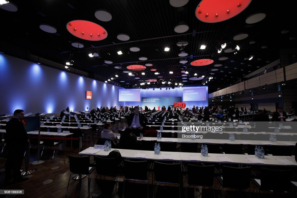 Social Democrat Party  Hold Party Conference And Vote On Coalition Proposals