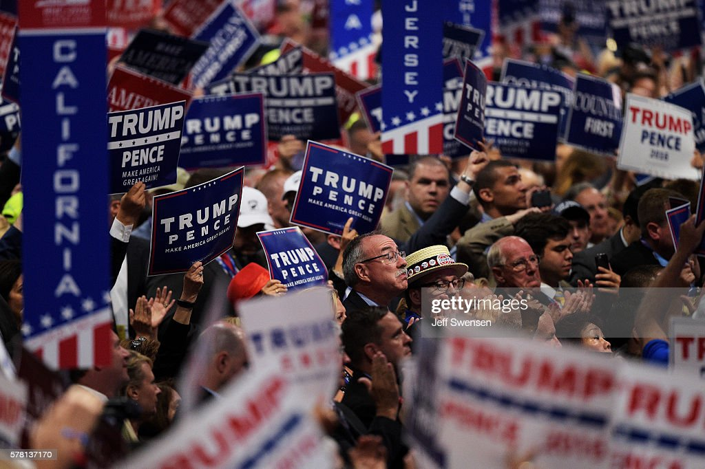 Republican National Convention: Day Three : News Photo