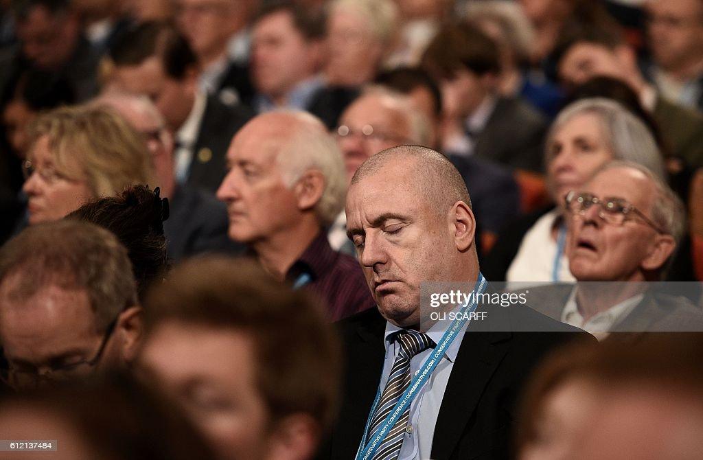 BRITAIN-POLITICS-CONSERVATIVE : News Photo