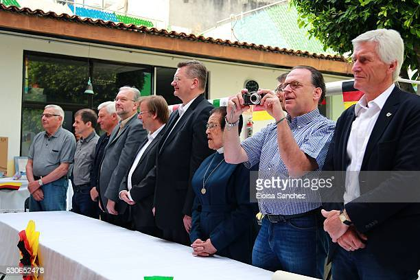 Delegation led by their newly elected president Reinhard Grindel visits Casa de Cuna celebrating the 30th anniversary of their first visit and...