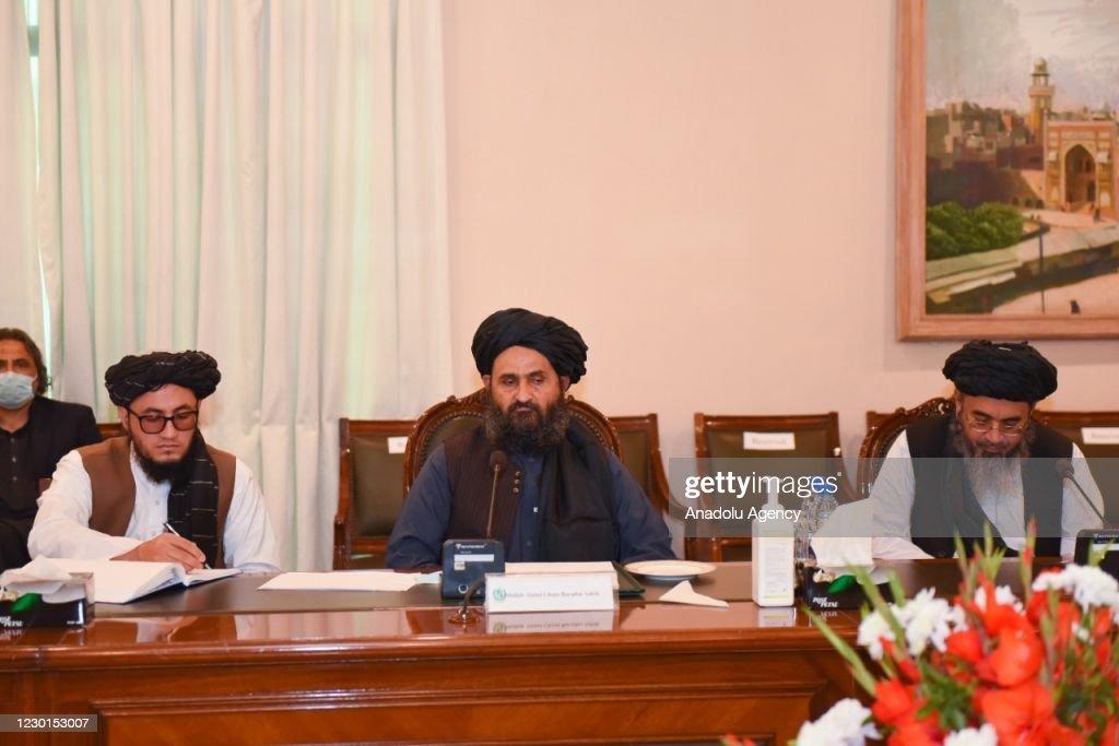 Afghan Taliban delegation in Islamabad : News Photo