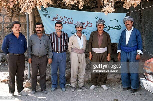 Delegation of Iraqis and Kurds Mossoul in August 1989 FDM78516