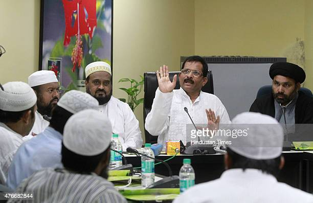A delegation of minority leaders meeting with Minister of State for AYUSH and Health Family Welfare Shripad Yesso Naik to convey their support for...
