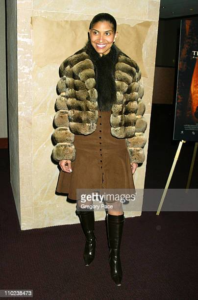 """DeLeon Richards during """"The Woodsman"""" New York Cit y Premiere - Inside Arrivals at The Skirball Center in New York City, New York, United States."""